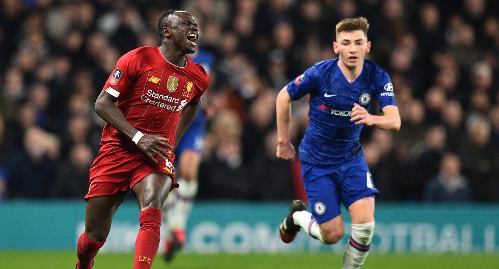 El Chelsea eliminó al Liverpool de la FA Cup. (Foto: AFP)