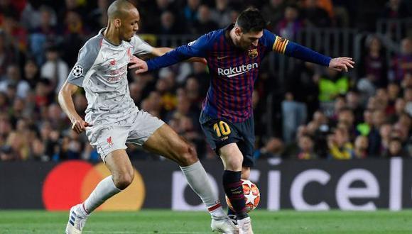 Lionel Messi habría propinado un puñete a Fabinho y los hinchas del Liverpool quieren que la UEFA lo sancione. (Video: ESPN 2)