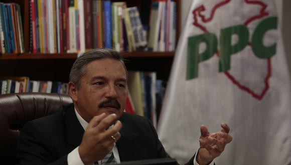 Alberto Beingolea, candidato presidencial del PPC, saludó la decisión del Poder Judicial sobre sus candidatos al Congreso por Lima. (Foto: GEC)