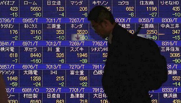 Bolsas asiáticas cierran en rojo por contagio de Wall Street