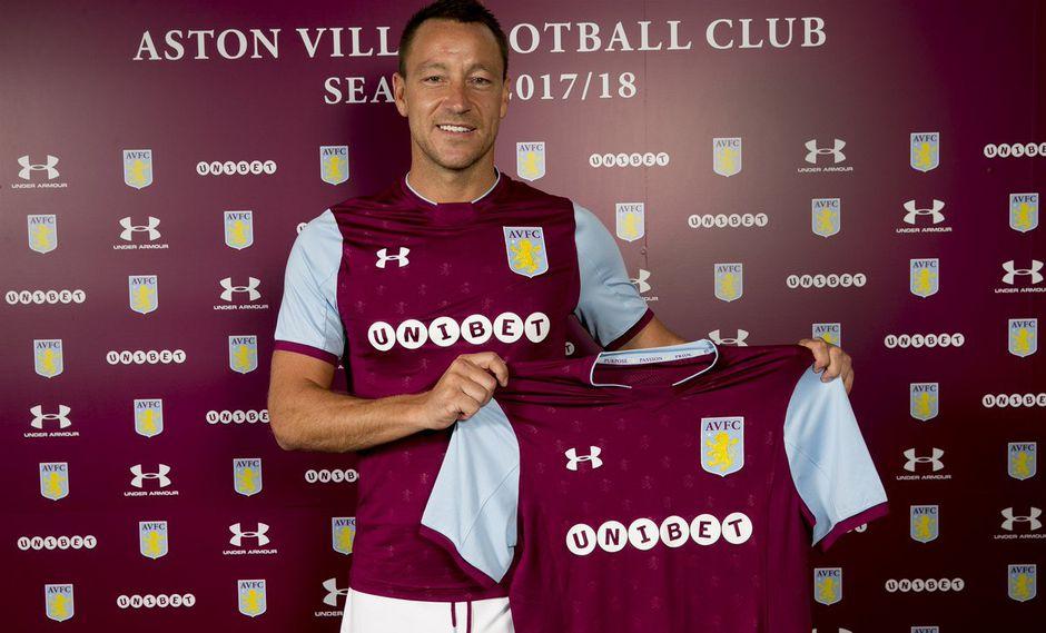 John Terry decidió seguir su carrera en la categoría de ascenso de Inglaterra. El ex capitán del Chelsea se unió por una temporada al Aston Villa. (Foto: AVFCOfficial)
