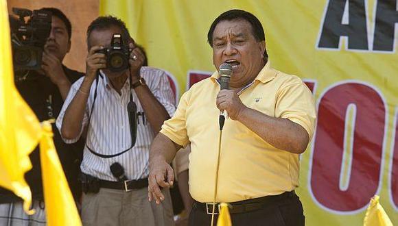 Congresista José Luna Gálvez renunció a Solidaridad Nacional