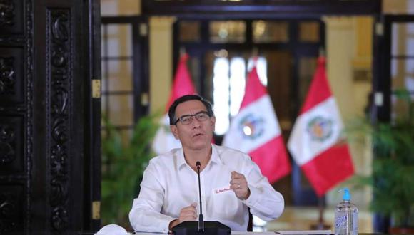 El presidente Martín Vizcarra informará sobre evaluación de acciones contra el COVID-19. (Foto: Presidencia de la República)