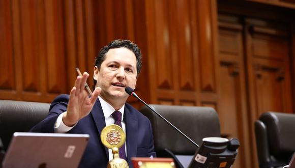 El presidente del Congreso, Daniel Salaverry, extendió la legislatura hasta el viernes 1 de febrero para seguir debatiendo la ley de la JNJ. (Foto: Congreso de la República)