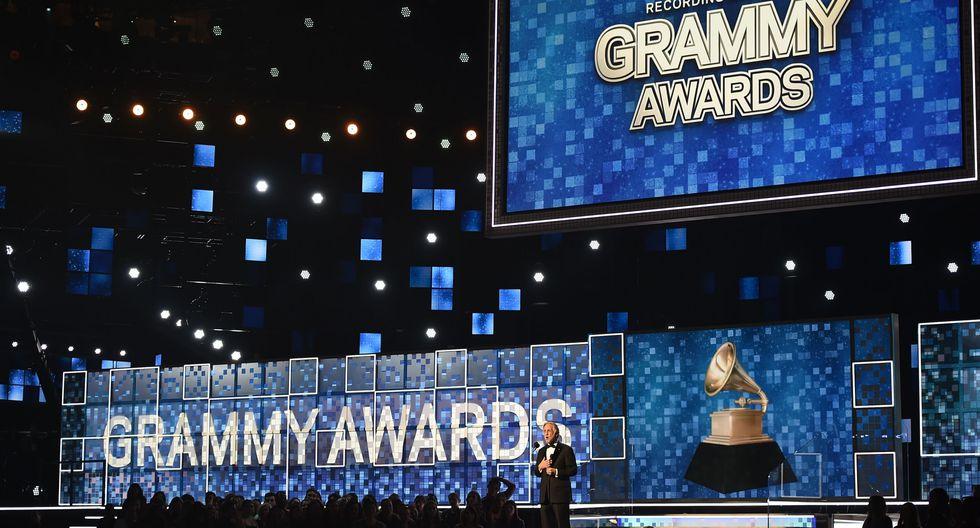 Los premios se celebraron en el Staples Center de Los Ángeles (Foto: AFP)