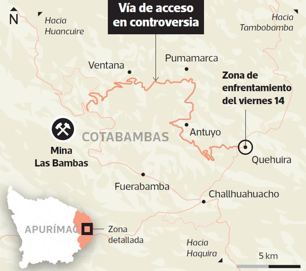 Las Bambas: la ruta que origina el conflicto - 2