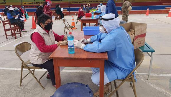 Operación Tayta llegó a Moguegua con 24 mil pruebas rápidas para detectar casos de COVID-19 (Foto: CC.FF.AA)