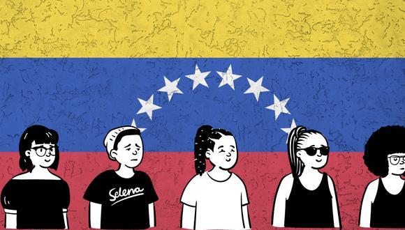 A propósito del #8M una adolescente venezolana da testimonio de su vida en el Perú. (Fotocomposición: El Comercio)