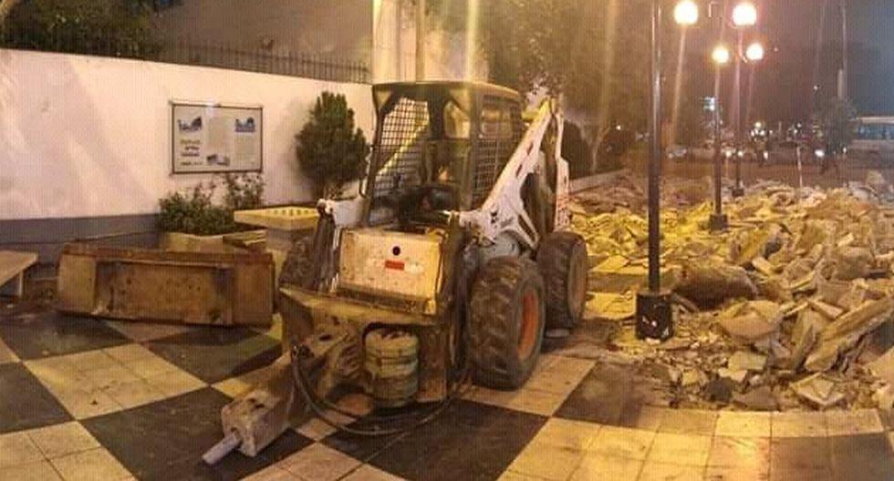 Miraflores: municipio descarta retiro de tableros de ajedrez del pasaje Olaya
