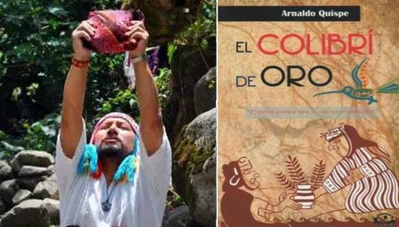 "Presentan ""El colibrí de oro"", un libro de relatos chamánicos"