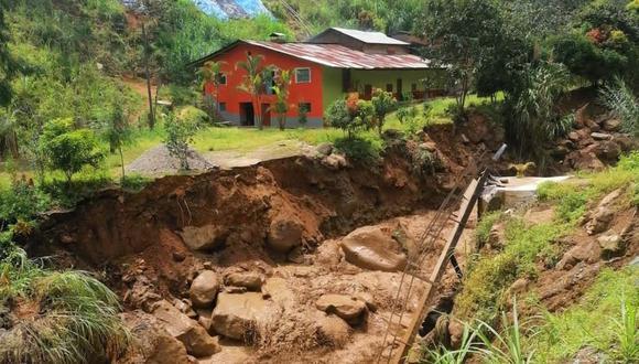 El huaico se produjo en la región Piura. (Foto: Andina)