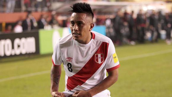 Christian Cueva tiene contrato con Krasnodar hasta el 2020, pero Independiente lo quiere. (Foto: EFE)