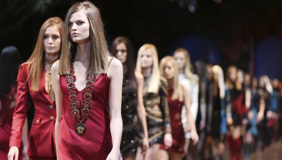 La moda militar según Donatella Versace