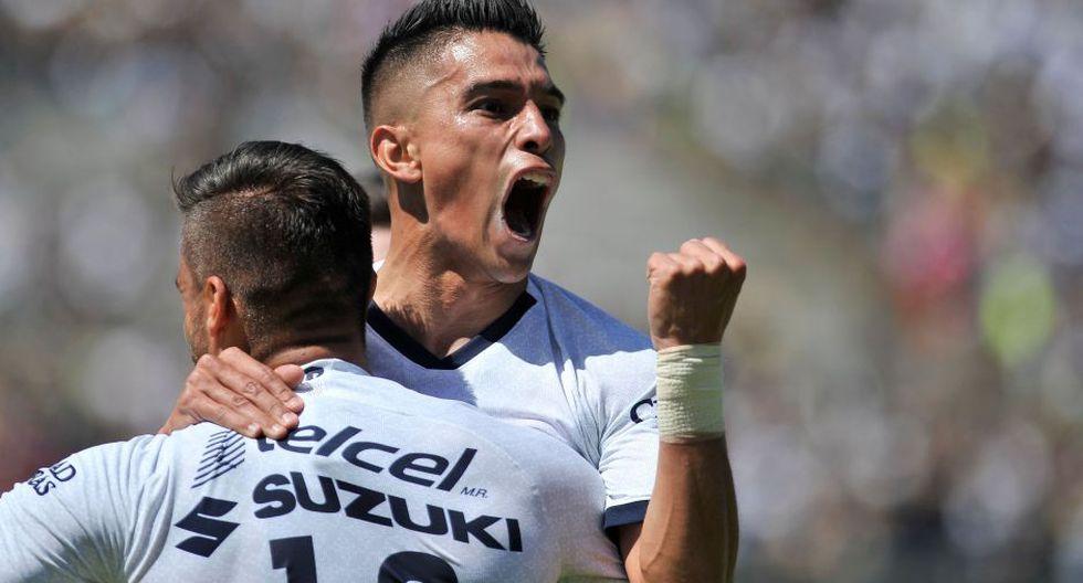 Estas fueron las mejores imágenes del duelo entre Pumas y Atlético San Luis | AFP / CLAUDIO CRUZ