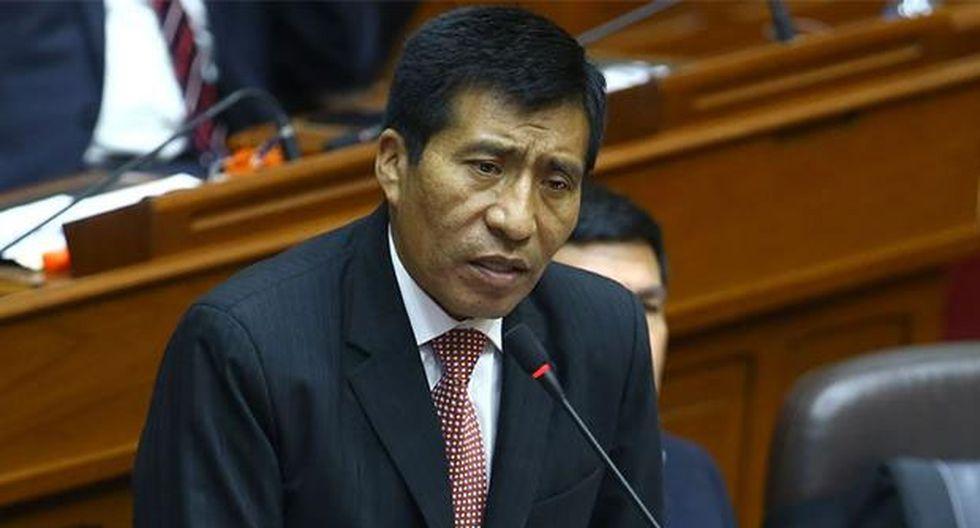 Moisés Mamani fue denunciado por una aeromoza de Latam por tocamientos indebidos. (Foto: Agencia Andina)