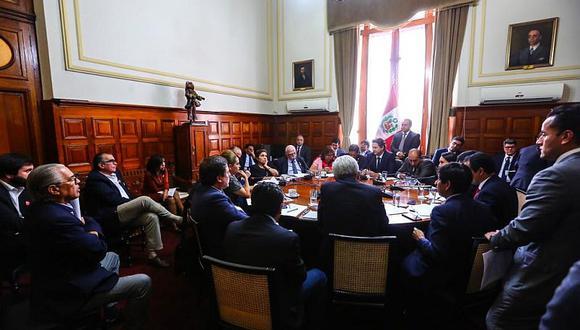 """Fuerza Popular está a favor de que la Junta de Portavoces se vuelva a reunir para llegar a """"otra fórmula"""" sobre la semana de representación. (Foto: Congreso)"""
