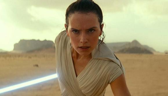 """A pesar de las fallas de """"Star Wars: The Rise of Skywalker"""", Rey (Daisy Ridley) tiene el arco argumental más sólido de todos. Foto: Lucasfilm."""
