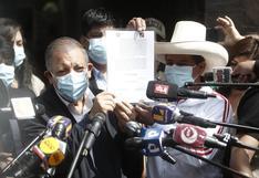 Pedro Castillo se reunió con Marco Arana para firmar acuerdo y formalizar apoyo para la segunda vuelta