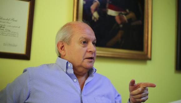 Pedro Cateriano conversó con Áureo Zegarra sobre coincidencias que podrían desembarcar en una afiliación política con miras a las elecciones 2021. (Foto: GEC)