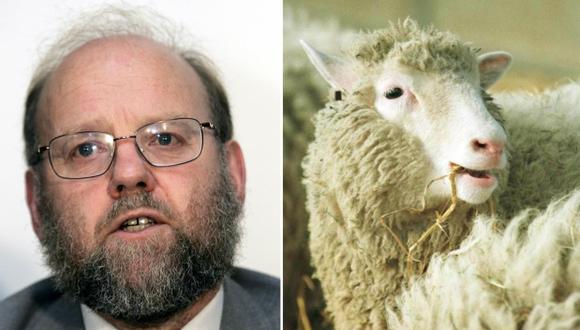 El científico Ian Wilmut fue el responsable de la oveja Dolly, el primer mamífero clonado. (Foto: AFP)