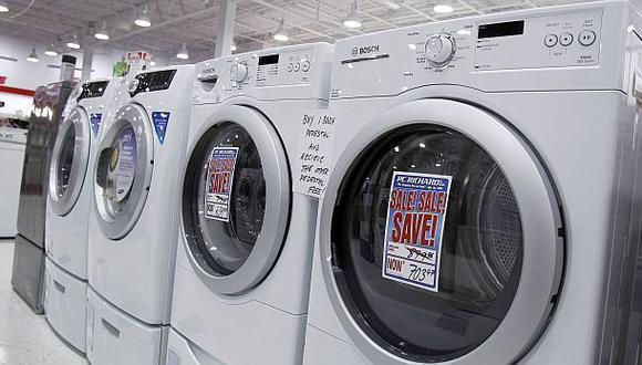 Mercado de lavadoras facturó US$160 millones al cierre del 2013