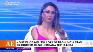Melissa Loza y su reacción tras el ingreso de Tepha a Esto es Guerra