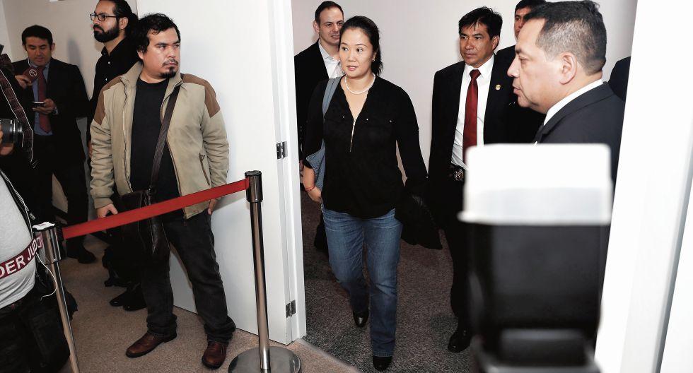 La fiscalía considera que Keiko Fujimori formó parte de una organización que obtenía dinero ilícito de Odebrecht. (Foto: Renzo Salazar / Archivo GEC)