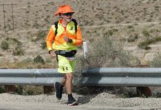 Atravesó EEUU de costa a costa: tiene 59 años y corrió más de 4,000 km para concientizar sobre la diabetes