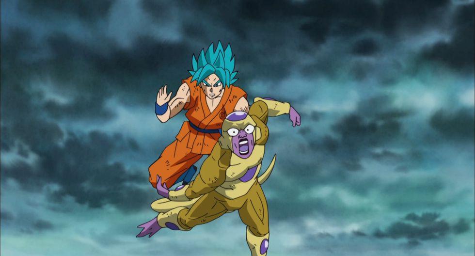 Aunque no lo creas, esta imagen de Gokú vs. Freezer es de la serie. (Foto: Toei Animation)