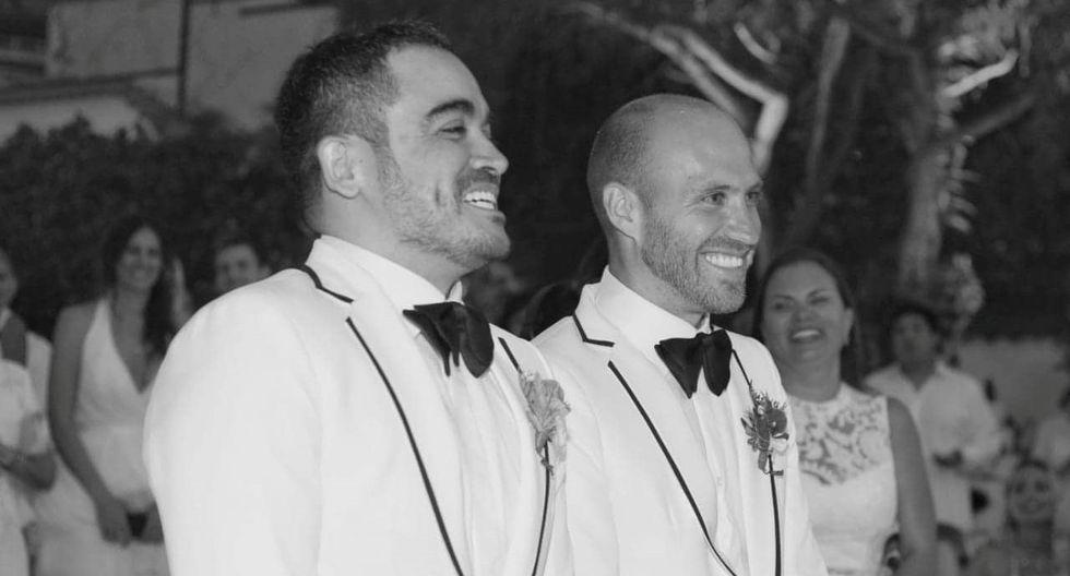 Yirko Sivirich, diseñador peruano, se casó con su novio en ceremonia privada  (Foto: Archivo personal de Yirko Sivirich)