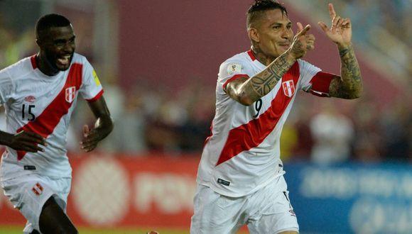 Paolo Guerrero marca el empate de Perú ante Venezuela en San Cristobal . (Foto: agencias)