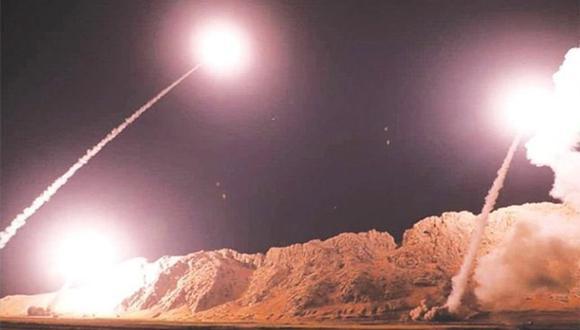 Esta imagen, que se hizo viral en Facebook, es sobre el supuesto ataque de Irán a Estados Unidos el 7 de enero pasado. | Foto: