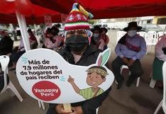 Bono Yanapay: 'carritos pagadores', la modalidad en la que comenzó a entregarse el subsidio desde este lunes 18