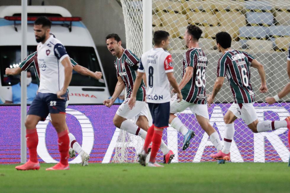 Fluminense enfrentó a Cerro Porteño por la Copa Libertadores | Foto: Agencias