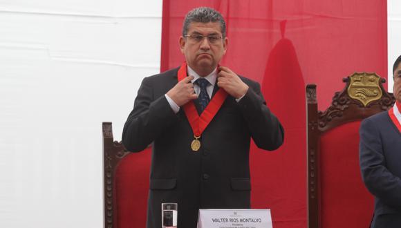 La investigación al exjuez Walter Ríos se extenderá hasta el 5 de abril de 2021. (Foto: GEC)