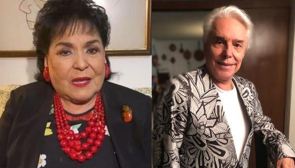 Carmen Salinas recuerda que Enrique Guzmán la amenazó de muerte. (Foto: Instagram)