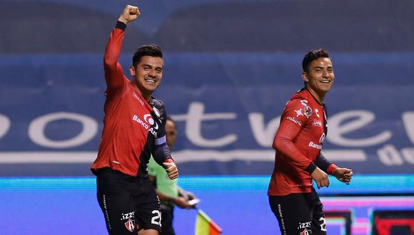 Atlas venció por la mínima diferencia a Puebla por la Liga MX 2021