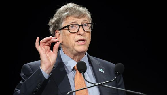 Bill Gates se dice optimista por la pandemia del coronavirus. (Foto: Ludovic MARIN / AFP).
