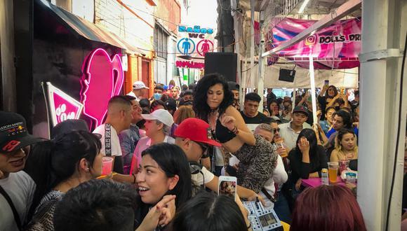 Descontrol en las fiestas que se realizan en el barrio de Tepito, en pleno corazón de la CDMX. (Foto: El Universal, de México / GDA)