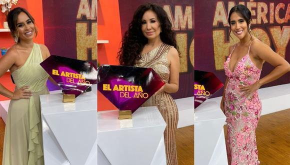 """Conductoras de """"América Hoy"""" serán las encargadas de la antesala de """"El artista del año"""". (Foto: @americahoy)"""