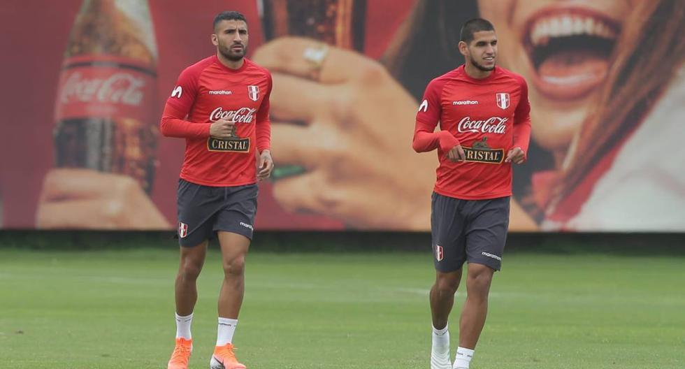 Los entrenamientos de la selección peruana con Josepmir Ballón. (Foto: Jesús Saucedo - GEC)