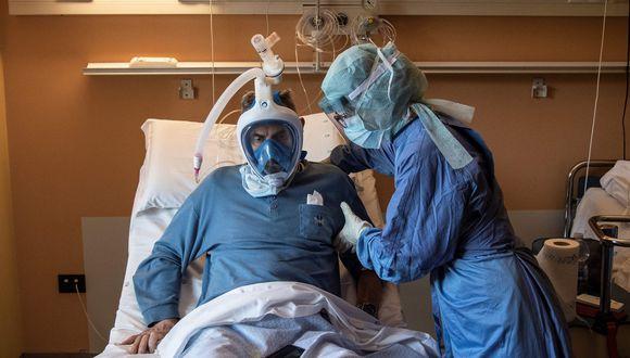 Coronavirus en Italia | Ultimas noticias | Último minuto: reporte de infectados y muertos martes 7 de abril del 2020 | Covid-19. (AFP / MARCO BERTORELLO).