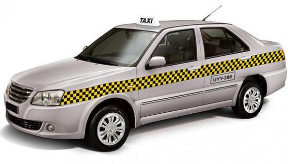 Taxis sin franjas de cuadros serán multados desde mañana