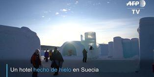 Suecia: reabren primer alojamiento turístico de hielo