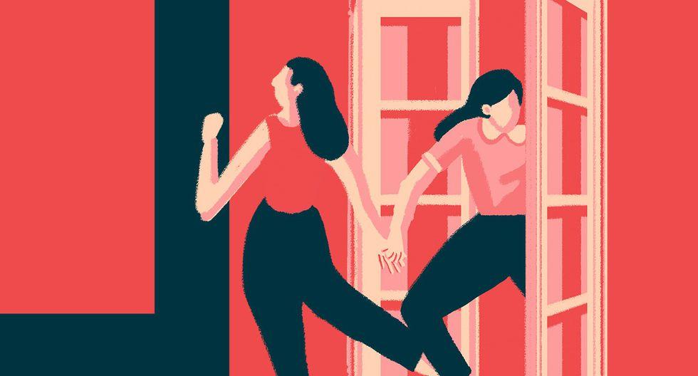 """""""Cada vez más mujeres como nosotras están despertando, y desde atrás venimos a triunfar"""". (Ilustración: Jhafet Pianchachi)"""