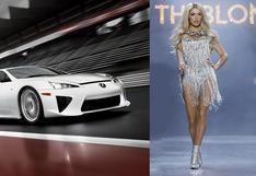 El Lexus LFA de la modelo Paris Hilton está a la venta   FOTOS