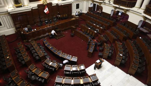 Comisión Permanente del Congreso sesionará este viernes 15 de enero. (Foto: Renzo Salazar / GEC)