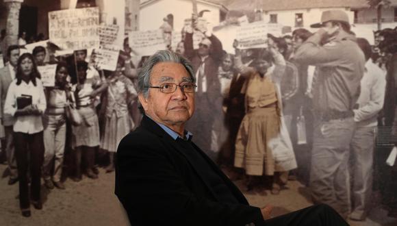 """Manuel Burga nació en Chepén, La Libertad, en 1942, y es autor de diversos libros que reflexionan sobre nuestro pasado, como """"Nacimiento de una utopía"""", """"Apogeo y crisis de la república aristocrática"""", y """"La historia y los historiadores en el Perú"""". (Foto: Grupo El Comercio)"""