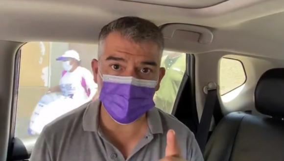 """""""Todos quisiéramos que los privados pudieran intervenir, pero no en este momento. El proceso lo tiene que liderar el Estado para proteger a toda la población"""", indicó Guzmán. (Foto: captura video Twitter)"""