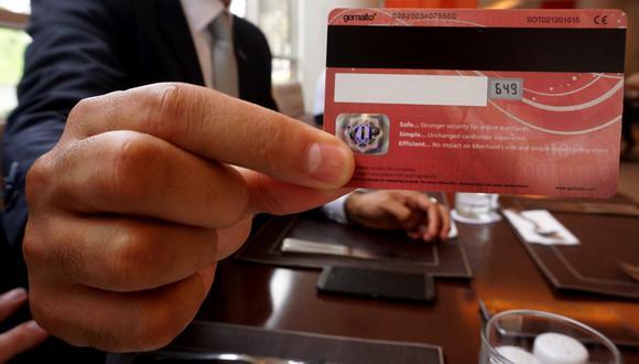 tarjetas que utilizan chip y pagan sin contacto con pos
